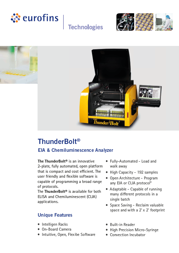 INSTRUMENTS: ELISA ANALYZERS